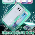 For Samsung Galaxy S6 /S6 Edge Waterproof Case Shockproof Dust Sand-proof Cover