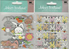 U CHOOSE  Jolee's EASTER BUNNIES MINI BUNNY REPEATS  3D Stickers