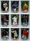 2014 Bowman Chrome Prospect Prospects You Pick the Player Finish Your Set C