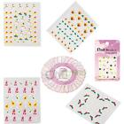 New 30 Style Christmas Style 3D Nail Art Stickers Decals Beauty Christmas C-35