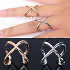 2015 Hot Sale Infinity Cute Punk Style Simplicity Hollow X-Shape Ring Women Gift