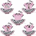 Western Cowgirl Dairy Cattle Pink Bodysuit Milk Cow Baby Dress Girl Tutu NB-18M
