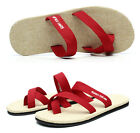 Mens womens sandals flip flops comfort flats Flax Causal Beach slippers shoes sz