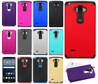For LG G Stylo HARD Astronoot Hybrid Rubber Silicone Case Cover +Screen Guard