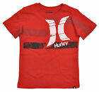 Hurley Big Boys S/S Redwing & White Top Size 8 18/20 $18