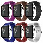 LEATHER SMART WRIST WATCH BAND STRAP STRAPS BUCKLE FOR APPLE IWATCH WATCH 38MM