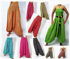 VERY LONG HAREM PANTS - BAGGY, JUMPSUIT,YOGA, BEACH -STRIPES