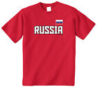 Threadrock Kids Russia National Team Youth T-shirt Russian Country Pride