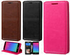 For LG Escape 2 Premium Wallet Case Pouch Flap STAND Cover +Screen Protector