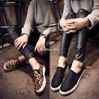 Leopard Printed Flats Slip On Chelsea Women Sneakers Skateboarding Loafers Shoes