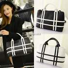 Tote Clutch Messenger Handbag Shoulder Bag Cross Bag Stripe pattern Medium Purse