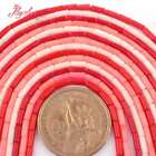 2x5mm Natural Smooth Column Coral Gemstone Beads For Jewelry Making Strand 15""