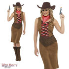 FANCY DRESS COSTUME # LADIES WILD WESTERN FRINGE COWGIRL SIZE 8-18