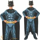 Boys Batman Dark Knight Kids Comic Book Superhero Fancy Dress Costume