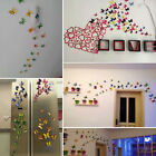 12x 3D Butterfly Fridge Magnets Room Car Wall Decorations Magnetic Sticker Home