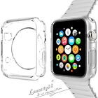 Transparent Crystal Silicone TPU Soft Case Cover For IWatch Apple Watch 38 42mm