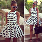 Sexy Summer Dress Women Casual Sleeveless Party Dress Evening Short Mini Dress