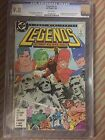 LEGENDS #3 (1987) CGC 9.8, 1st App of NEW SUICIDE SQUAD,  FREE SHIPPING