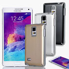 Ultra-Thin Hybrid Metal Aluminum Chrome Case Cover For Samsung Galaxy Note 4