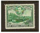 British Guiana - 1938/52, 24c Blue-Green, Wmk Upright stamp - Mint - SG 312