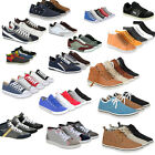 Herren Sneakers High & Low Top Sportschuhe Schnürer 890087 Gr. 40-46 Best Price