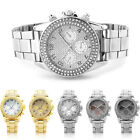 Fashion Luxury Dial Metal Stainless Steel Man Crystal Classic Wrist Watch