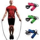 Crossfit Aerobic Exercise Skipping Jump Rope Adjustable Bearing Speed Fitness