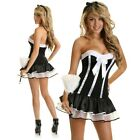 Womens French Chamber Maid Fancy Dress Costume