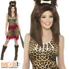 Cavegirl Cutie Fancy Dress Ladies Jungle Flintstones Cave Girl Womens Costume