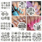 10Pcs/set Nail Art Stamp BORN PRETTY Stamping Plates Template Image Stencil