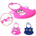 Baby Soft Silicone Bib Kid Waterproof Saliva Dripping Infant Cute lovely Bibs