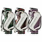 ASTON MARTIN S MENS GOLF STAFF CADDIE BAG - NEW TOUR TROLLEY CARRY CART BAG 2015