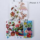Stylish Fancy Cute Floral Patterns TPU Gel Back Case Cover for Apple iPhone 6G