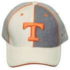 New! Tennessee Volunteers Curved Bill Fitted Embroidered Cap - Softened Wool