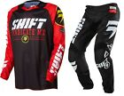 NEW 2016 SHIFT RACING STRIKE MX DIRT BIKE MOTOCROSS GEAR COMBO BLACK ALL SIZES