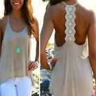 Fashion Women  Sexy Sleeveless Casual Loose Halter Tank Tops Vest Shirt Blouses