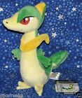Servine Poke Doll Plush Large Sized Pokemon Center USA from Black and White NwTs