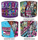 Monster High Lampshades Ideal To Match Monster High Duvets Covers & Cushions.