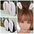 1 pair Bunny Ears Hair Clips Cute Party Cosplay Girl Rabbit Ears Hair Decor WFR
