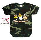 Rothco 67077 Choose Your Weapon Infant One-piece - Woodland Camo