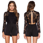 FASHION NEW Summer Sexy Women Lace Bodycon Jumpsuit Jumper Romper Party Clubwear