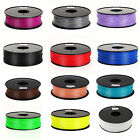 Multi color Premium 3D Printer Filament 1.75/3mm ABS PLA 1kg/2.2lb for MakerBot