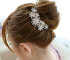 New hair jewelry charming crystal flower bride hair accessory dish hair combs