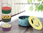 Summer Foods Mosquito Coil Holder - Japanese fruit, vegetable design incense can