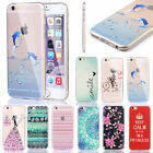 Colorful Slim Clear Transparent Silicone Soft Case Cover Skin For iPhone 6 4.7""