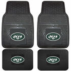 NFL Football New York Jets Front Rear Vinyl Rubber Floor Mats Car Truck $26.36 USD on eBay
