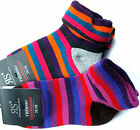 Riese Socken Thermo Umschlagsocken Komfortrand extra warm lila/orange 35/38,39/4
