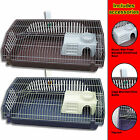 Rabbit Guinea Pig Indoor Cage Hutch 101cm x 54cm x 30cm New Red or Blue