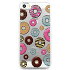 TPU Case for iPhone 5/5s - Colorful Dounut Pattern