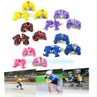 6Pcs Set Elbow Knee Wrist Protective Guard Gear Pad Skate Skateboard Bicycle Kid
